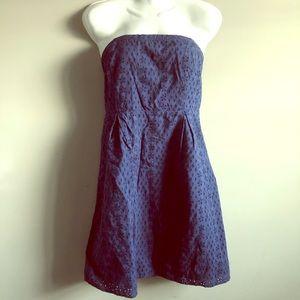 Old Navy eyelet lace sleeveless dress size 10